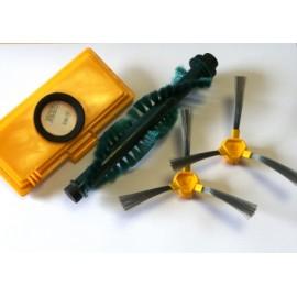 Kit brosses + filtre pour robots aspirateurs ECOVACS Série 5