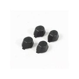 Patins caoutchoucs noirs Hubsan H107L/H107C