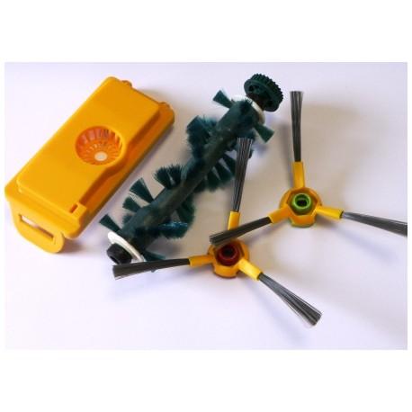 Kit brosses + filtre pour robots aspirateurs ECOVACS Série 7